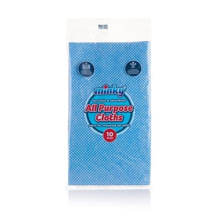 Minky All Purpose Cloth - Pack 10